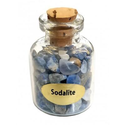 Бутылочка с содалитом