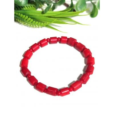 Браслет из красных кораллов