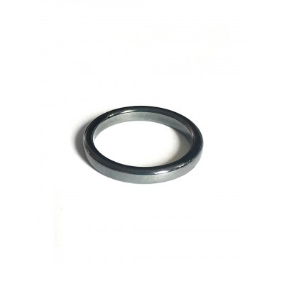 Кольцо из гематита без оправы