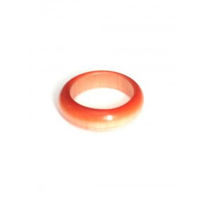 Кольцо из кошачьего глаза (синтетического)