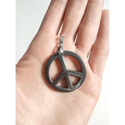 Подвеска Peace из гематита